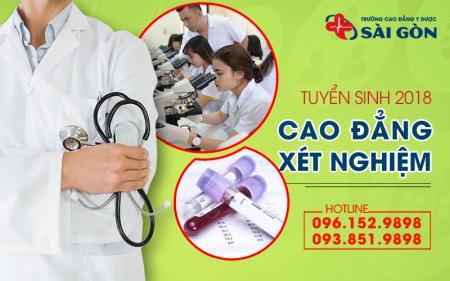 Cao đẳng xét nghiệm TPHCM