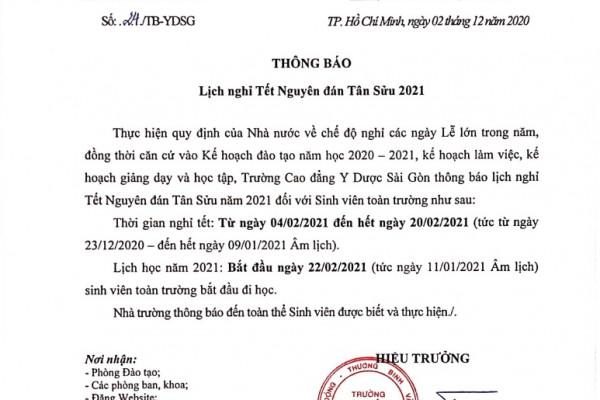 thong-bao-lich-nghi-tet-nguyen-dan-tan-suu-2021-cua-truong-cdyd-sai-gon