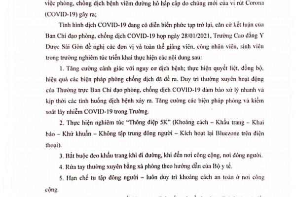 truong-cdyd-sai-gon-ra-thong-bao-moi-trong-viec-phong-chong-dich-benh-covid-19